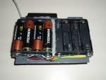 Попытка установки батареек