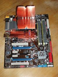 Память и процессорный кулер установлены