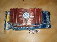 Видеокарта ASUS EN8800GT с установленным кулером Zalman VF1000 LED (вид спереди)